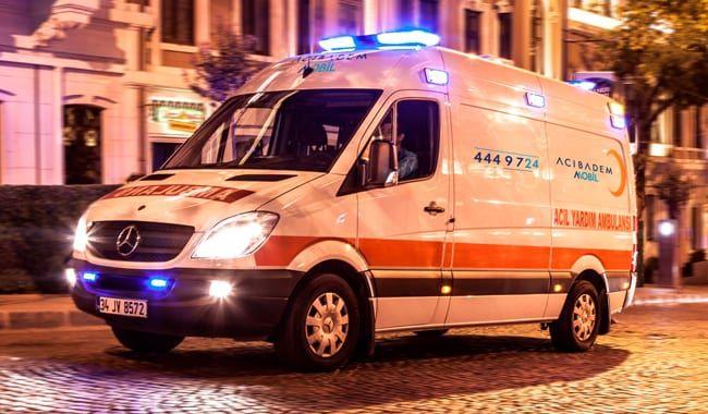 yaygın ambulans ağı