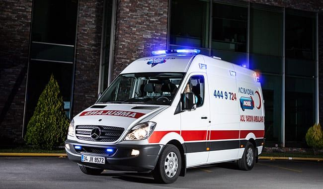dedike ambulans
