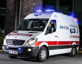 işte ambulans